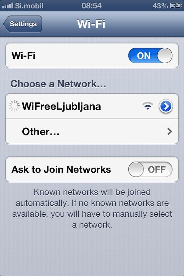 WiFreeLjubljana   brezplačno WiFi omrežje v Ljubljani