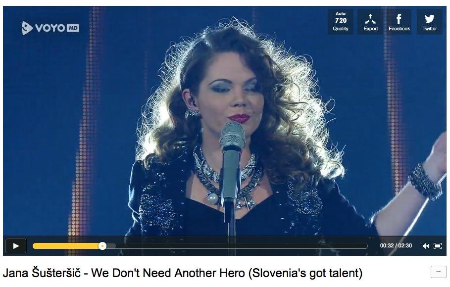 Zmagovalka šova SIT je Jana Šušteršič - Slovenija ima talent