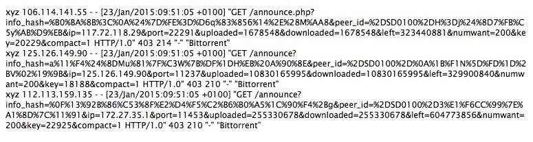 DDoS - distributed denial of service čez bittorrent