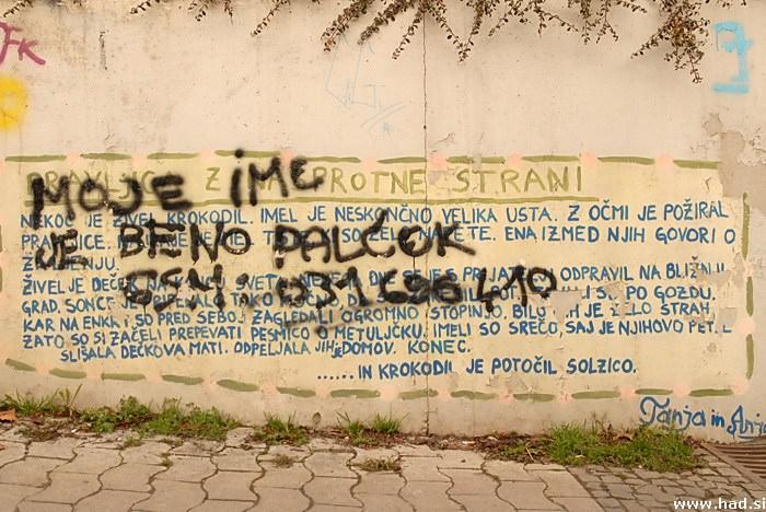 Grafiti - kriminal, ali umetnost?