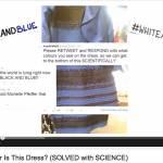 Kakšne barve je obleka - črno modra ali belo zlata? Rešitev je..