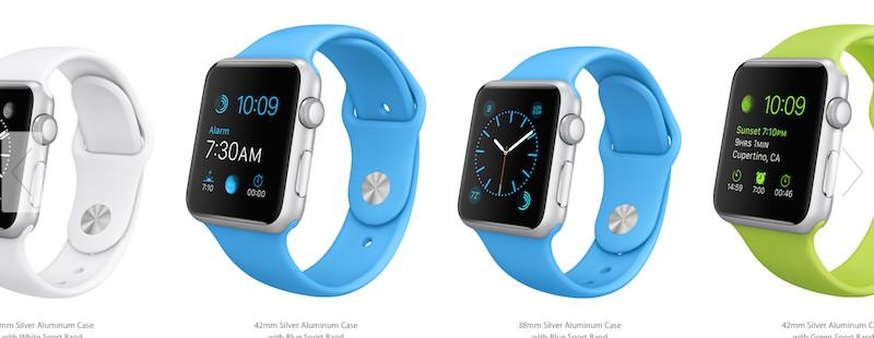 Apple Watch - 349$ od 24. aprila naprej