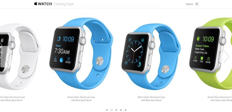 Apple Watch - 349$ od 24. aprila naprej