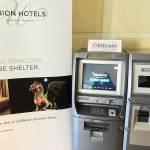 Bitcoin ATM v Hotelu Union v Ljubljani