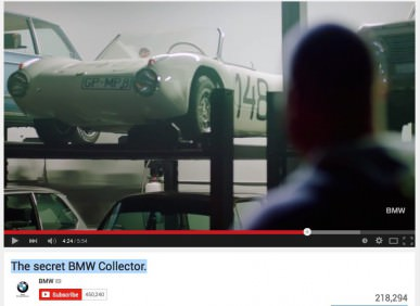 The secret BMW Collector - ali je res lastnik skrivnost?