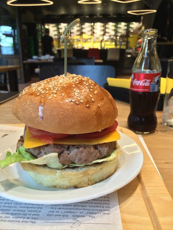 Katrca Beer burger