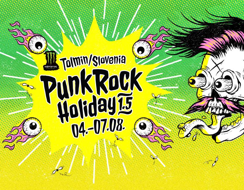 Punk Rock Holiday 1.5 / 4. - 7.8.2015 / Tolmin