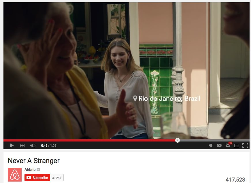 Airbnb / Is #Mankind? in Never A Stranger