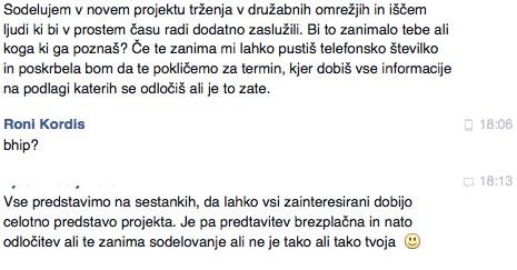 bHIP mrežni/odnosni marketing, rekrutacija in zagrabipriloznost.si