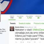 Slovenščina in mag. Branko Grims na Twitterju