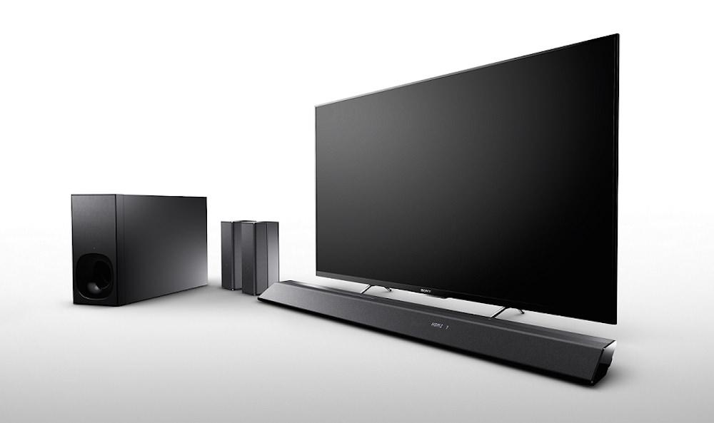 Sony HT-RT5 / kompaktni zvočniški modul z brezžičnimi zadnjimi zvočniki in globokotoncem