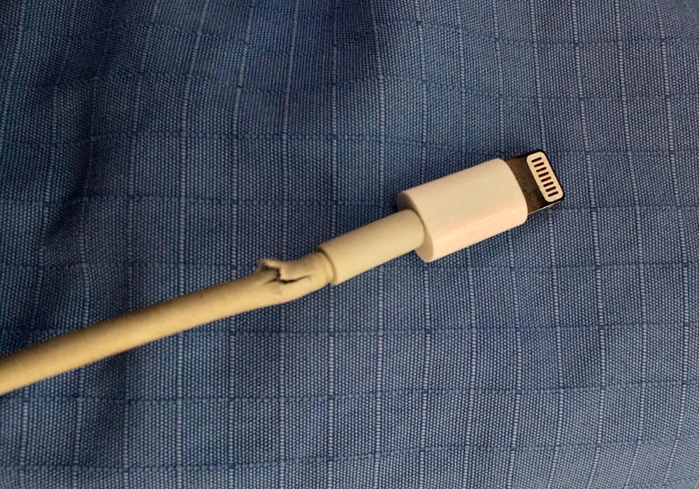Apple kabli in njihovo trganje