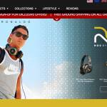 "Cristiano Ronaldo / ROC headphones and speakers / ""brezdomec"" v Madridu"