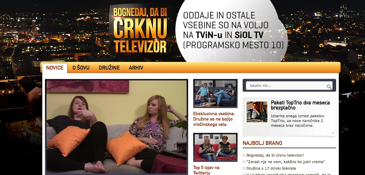 Bognedaj, da bi crknu televizor / šov na Planet TV