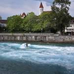Surfanje na Reki Aare / Thun