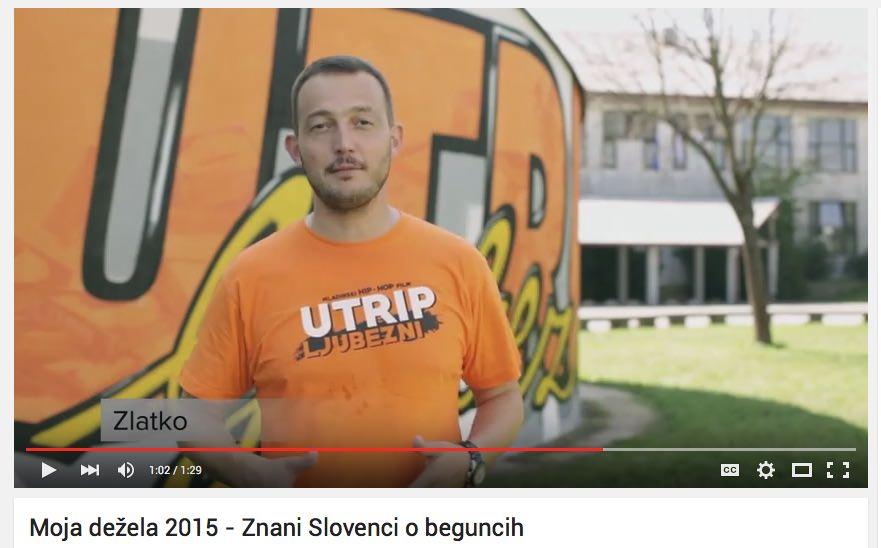 Moja dežela 2015 - Znani Slovenci o beguncih