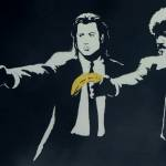 Banksy_Pulp Fiction Bananas