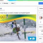 NSi uradni sponzor Olimpijskih iger Rio 2016