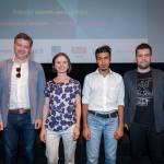 Govorci, ki so delili svoje poglede na digitalno transformacijo.