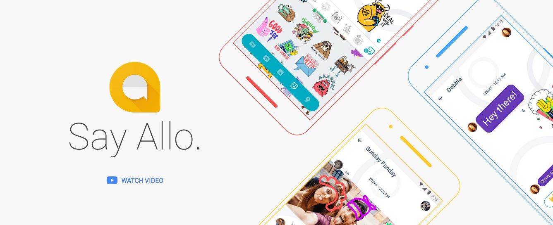 Google Allo / a smart messaging app / #GoogleAllo