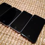 iPhone 3GS, iPhone 4S, iPhone 5S, iPhone 6S