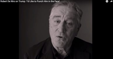 Robert De Niro on Trump: 'I'd Like to Punch Him in the Face'