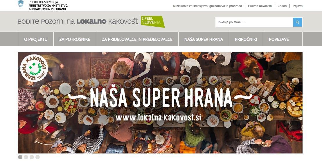 Naša super hrana / svet za promocijo kmetijskih in živilskih proizvodov