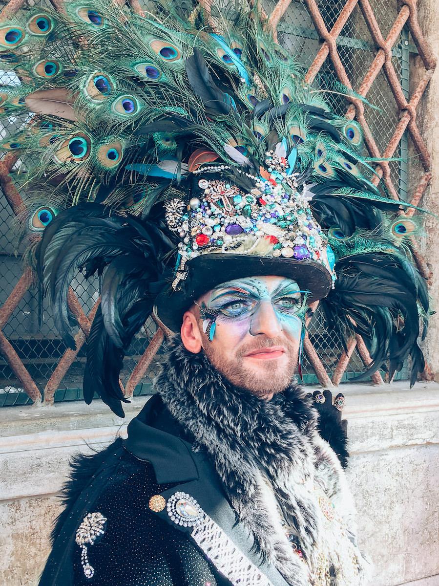 Karneval Benetke 2019 Venice Carnival 2019 39 - had blog