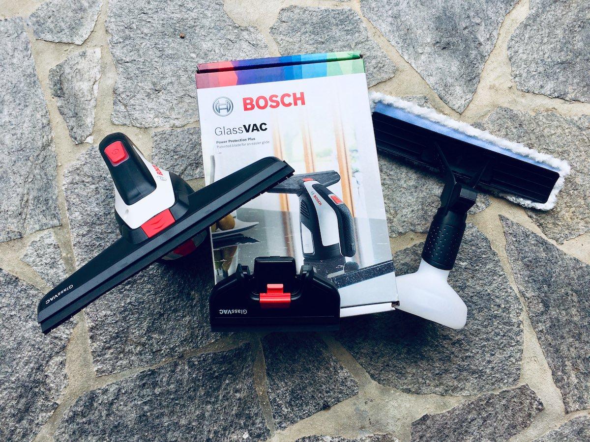 Bosch GlassVac akumulatorski vakumski cistilnik za steklo