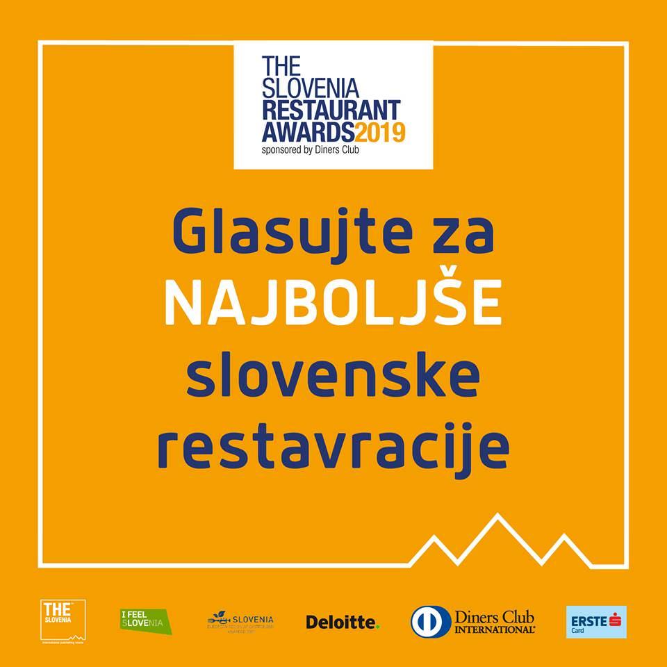Oddajte svoj glas za najboljše slovenske restavracije The Slovenia Restaurant Awards
