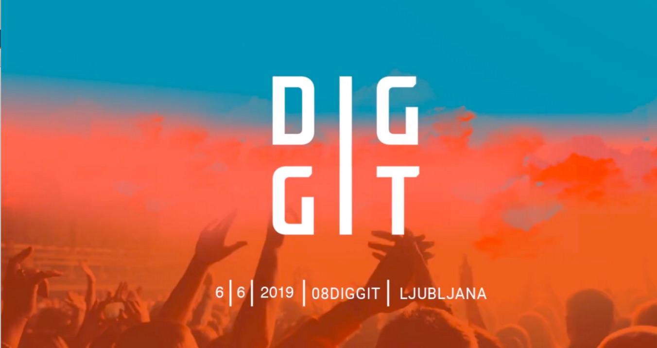 Diggit konferenca o digitalnih komunikacijah 6. 6. 2019