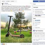 Nateg Segway na Facebooku podarja elektricni skiro Ninebot by Segway ES2