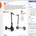Nateg Xiaomi na Facebooku podarja elektricni skiro Xiaomi MiJia