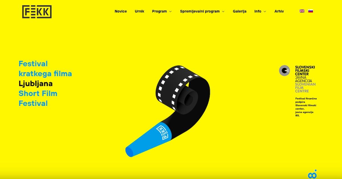 5. FeKK festival kratkega filma v Ljubljani 19.8. 24.8.2019