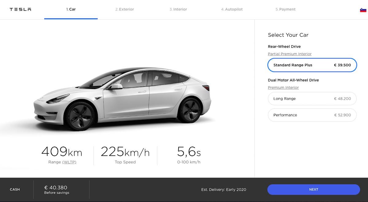 Tesla bo prodajala svoja elektricna vozila tudi v Sloveniji