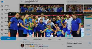 Slovenska odbojkarji premagali Rusijo v polfinalu s Poljsko