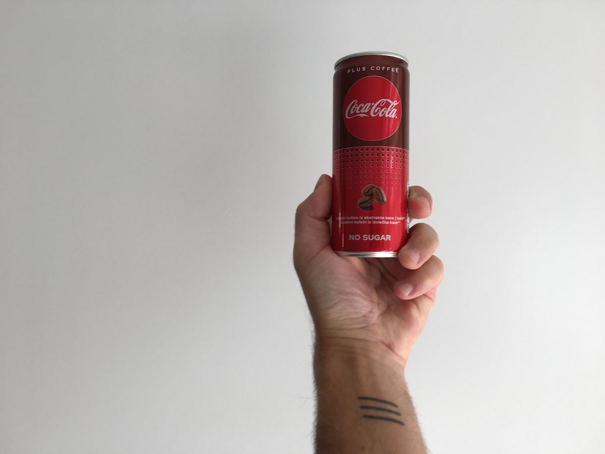 Coca Cola Coffee to ni pitno