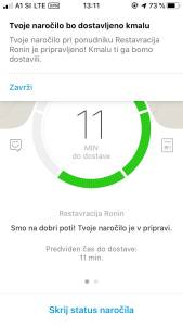 Wolt moja izkušnja z naročanjem hrane preko aplikacije Wolt s kodo S9ZMN dobite 5 evrov2
