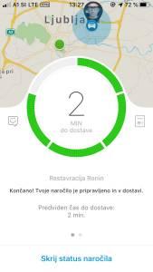 Wolt moja izkušnja z naročanjem hrane preko aplikacije Wolt s kodo S9ZMN dobite 5 evrov3