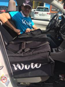 Wolt moja izkušnja z naročanjem hrane preko aplikacije Wolt s kodo S9ZMN dobite 5 evrov4