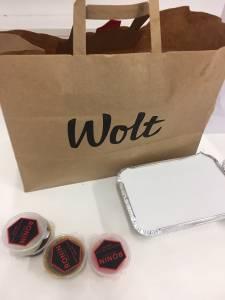 Wolt moja izkušnja z naročanjem hrane preko aplikacije Wolt s kodo S9ZMN dobite 5 evrov5