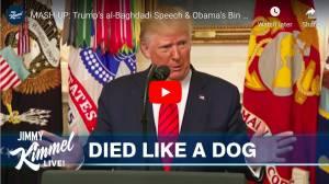 Donald Trump Al Baghdadi govor VS Barack Obama Bin Laden govor