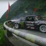 Ken Block's Climbkhana Tianmen Mountain Ford F 150 Hoonitruck 1977 914 konjev