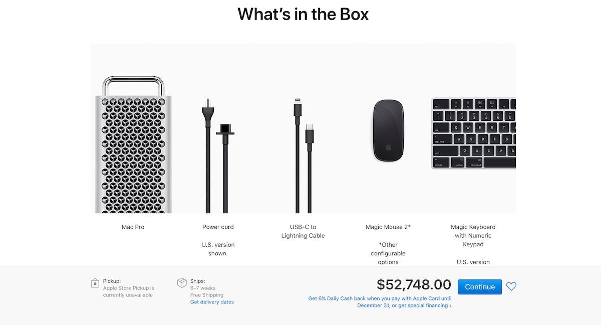 Apple Mac Pro racunalnik za 50.000 dolarjev ja prav ste prebrali