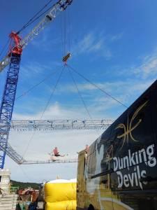 Dunking Devils akrobacije na najvecjem trampolinu na svetu12