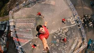 Dunking Devils akrobacije na najvecjem trampolinu na svetu3