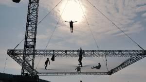 Dunking Devils akrobacije na najvecjem trampolinu na svetu8
