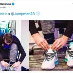 Luka Doncic podpisal pogodbo z Air Jordan