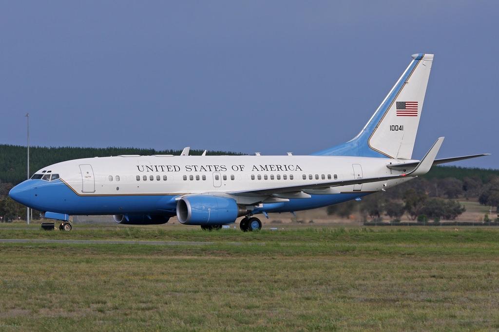 Boeing C 40B United States US Air Force USAF JP6790575