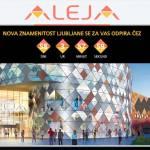 Nakupovalni center Aleja v Siski otvoritev 19. marca ob 9. uri